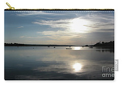 Glenmore Reservoir Calm Carry-all Pouch by Stuart Turnbull