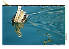 Carry-all Pouch featuring the photograph Gliding by Clare Bevan