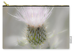 Glimmering Thistle Carry-all Pouch