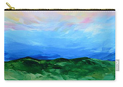 Carry-all Pouch featuring the painting Glimpse Of The Splendor by Linda Bailey