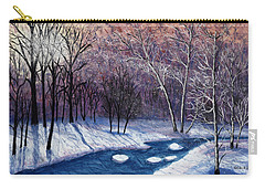 Glistening Branches Carry-all Pouch