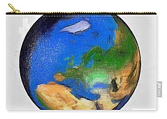 Globe 3d Picture Carry-all Pouch