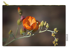Globemallow Carry-all Pouch by Nikolyn McDonald