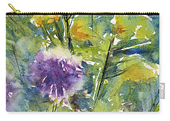 Globes And Rockets Carry-all Pouch by Judith Levins