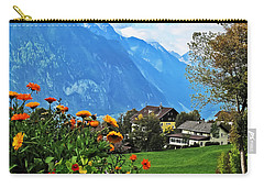 Glorious Alpine Meadow Carry-all Pouch