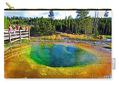 Glory Pool Yellowstone National Park Carry-all Pouch