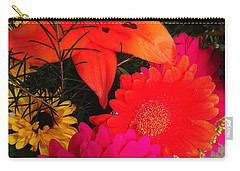 Carry-all Pouch featuring the photograph Glowing Bright by Meghan at FireBonnet Art