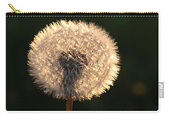 Glowing Dandelion Clock Carry-all Pouch