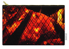 Glowing Embers Carry-all Pouch by Darren Robinson