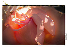 Carry-all Pouch featuring the photograph Glowing Heart by Patricia Babbitt