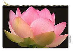 Glowing Lotus Square Frame Carry-all Pouch
