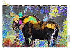 Electric Moose Carry-all Pouch