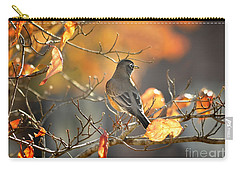 Glowing Robin 2 Carry-all Pouch