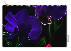 Glowing Sweet Peas Carry-all Pouch