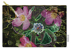 Glowing Wild Rose Carry-all Pouch