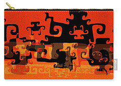 Gnarly Silhouette Parade Carry-all Pouch