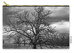 Carry-all Pouch featuring the photograph Gnarly Tree by Sennie Pierson