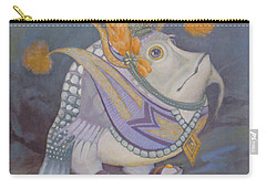 Carry-all Pouch featuring the painting Go Thai by Marina Gnetetsky