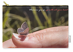 Go With All Your Heart - Confucius Carry-all Pouch