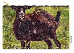 Goat Piggybackers Carry-all Pouch