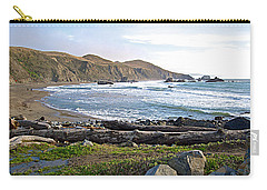 Goat Rock State Beach On The Pacific Ocean Near Outlet Of Russian River-ca  Carry-all Pouch