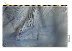 Goat's Beard Seed Macro Carry-all Pouch by Sandra Foster