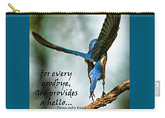 God Will Provide A Hello Carry-all Pouch