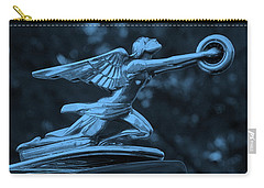 Carry-all Pouch featuring the photograph Goddess Hood Ornament  by Patrice Zinck