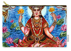 Goddess Lakshmi Carry-all Pouch by Harsh Malik