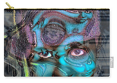 Carry-all Pouch featuring the photograph Goddess Of Love And Confusion by Richard Thomas