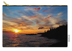 Carry-all Pouch featuring the photograph God's Morning Painting by Bonfire Photography