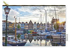 Carry-all Pouch featuring the photograph Goes Harbour by Frans Blok