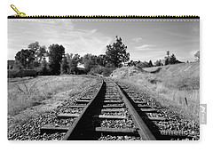 Carry-all Pouch featuring the photograph Going North by Janice Westerberg