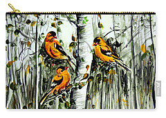 Gold Finches Carry-all Pouch