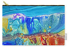 Gold In The Hills Carry-all Pouch by Joan Hartenstein