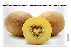 Gold Kiwifruit Carry-all Pouch by Fabrizio Troiani