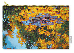 Gold Reflections Carry-all Pouch