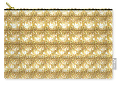 Carry-all Pouch featuring the photograph Gold Sparkle Tone Pattern Unique Graphics by Navin Joshi