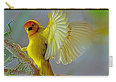 Golden Angel Carry-all Pouch