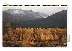 Golden Autumn - Cairngorm Mountains Carry-all Pouch