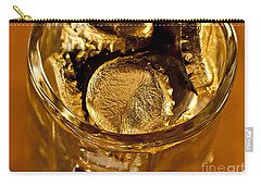 Carry-all Pouch featuring the photograph Golden Beer  Mug  by Wilma  Birdwell