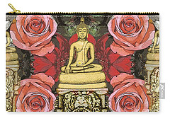 Golden Buddha In The Garden Carry-all Pouch