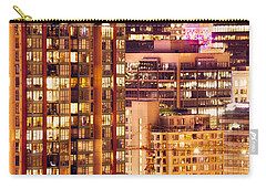 Carry-all Pouch featuring the photograph City Of Vancouver - Golden City Of Lights Cdlxxxvii by Amyn Nasser