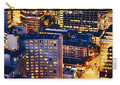 Golden Cityscape Vancouver Mcccl Carry-all Pouch