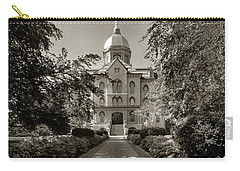 Golden Dome At Notre Dame University Carry-all Pouch