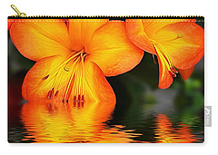Golden Dreams Carry-all Pouch by Kaye Menner