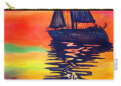 Golden Dreams Carry-all Pouch by Lil Taylor