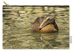 Golden Eider Carry-all Pouch