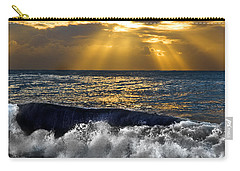Golden Eye Of The Morning Carry-all Pouch by Miroslava Jurcik