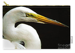 Golden Eye Carry-all Pouch by Susan Duda